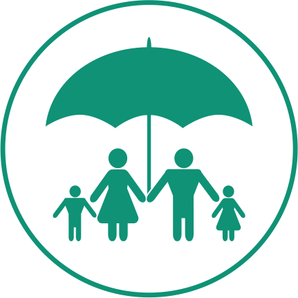 Protection to the baby's siblings, parents and grandparents