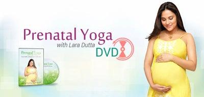 Prenatal Yoga DVD by Lara Dutta